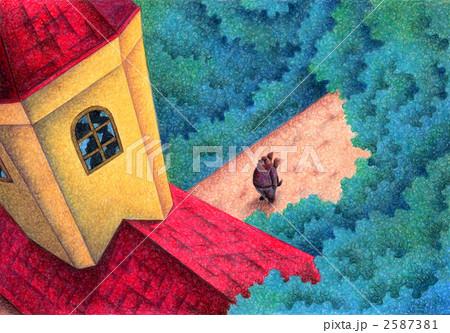 Angel Dog - 赤い屋根の廃墟 2587381