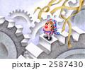 クラウン ピエロ キャラクターのイラスト 2587430