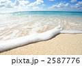 自然風景 波 海の写真 2587776