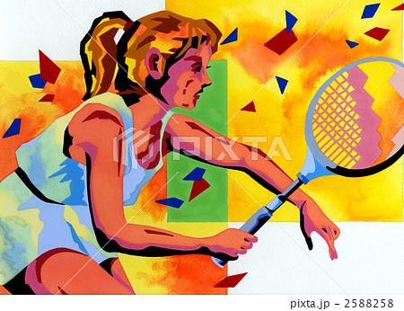 テニス 2588258