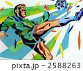 シュート スポーツマン スポーツ選手のイラスト 2588263