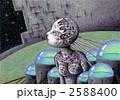 サイボーグ アンドロイド ロボットのイラスト 2588400