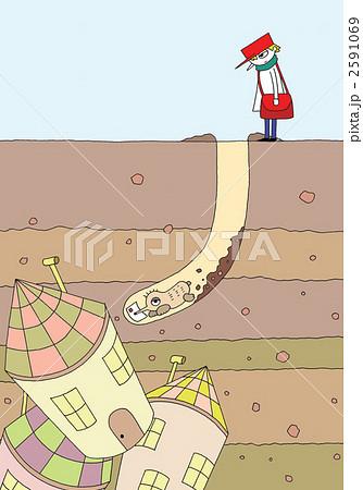 地底の家 2591069
