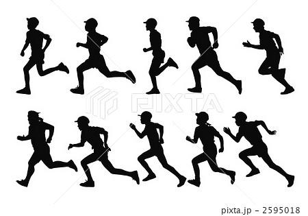 走るのイラスト素材 2595018 Pixta