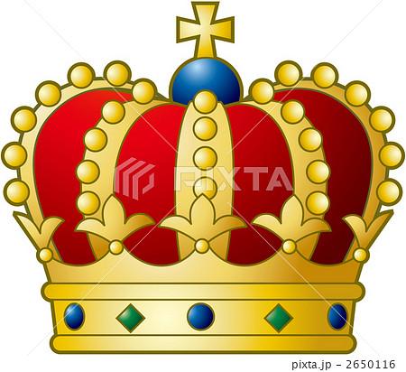 王冠 赤 2650116