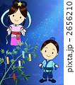 七夕祭り 天の川 織り姫のイラスト 2656210