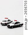 パトロールカー ミニカー パトカーの写真 2656703