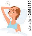 体調不良 頭痛 疲労のイラスト 2661550