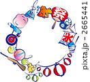 フレーム 夏祭り 祭り 2665441