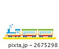 機関車 汽車 蒸気機関車のイラスト 2675298