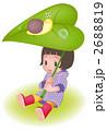 かたつむりと少女 2688819