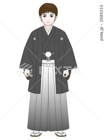 羽織 袴 のイラスト素材 2689333 Pixta