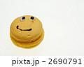 マカロン(笑顔)と広告スペース 2690791