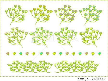 花のイラスト素材 2691449 Pixta