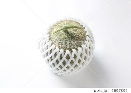 マスクメロン メロン 網目の写真素材 [2697395] - PIXTA