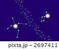 アルタイルとベガと天の川(星座線入り) 2697411