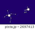 わし座とこと座(星座線入り) 2697413