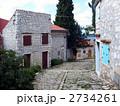 クロアチア イストラ半島 ロヴィニの路地 2734261