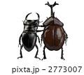 クワガタとカブトムシ 2773007