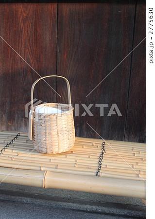 温泉竹かごの写真素材 [2775630] - PIXTA