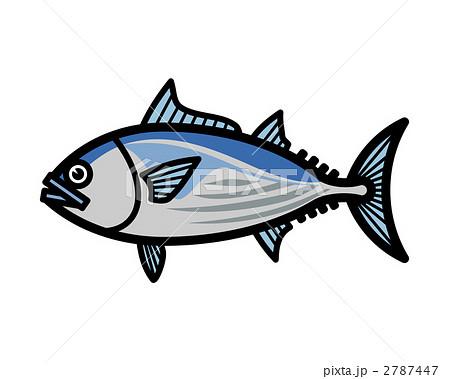 魚のイラスト かつお 鰹 カツオ 2787447