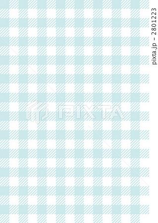 ギンガムチェック(水色)のイラスト素材 [2801223] - PIXTA