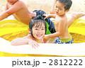 水遊びをする子供たち 2812222