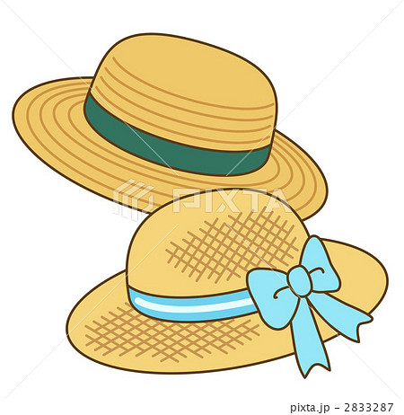麦わら帽子のイラスト素材 2833287 Pixta