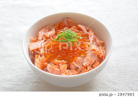 鮭いくら丼 2847965