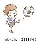 サッカー 男の子 10代 2853648