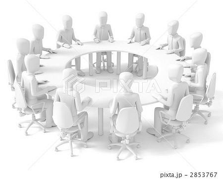 円卓会議のイラスト素材 [285376...