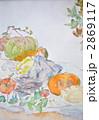 水彩画 野菜 2869117