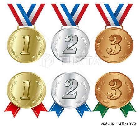 メダル アイコン イラスト 2873875