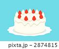 イチゴのショートケーキ 2874815