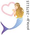 人魚 マーメイド 人魚姫のイラスト 2875115