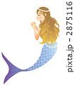 人魚 マーメイド 人魚姫のイラスト 2875116