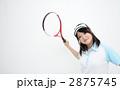 高校生 球技 テニスの写真 2875745