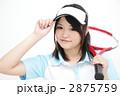 球技 高校生 テニスの写真 2875759