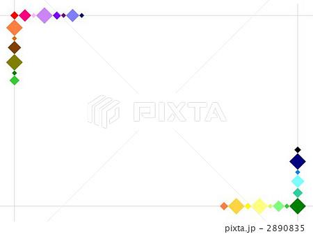 シンプルフレームのイラスト素材 2890835 Pixta
