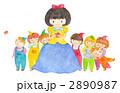 白雪姫と七人の小人 2890987