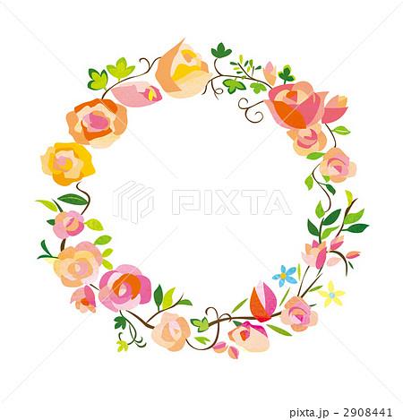 花のフレーム 2908441