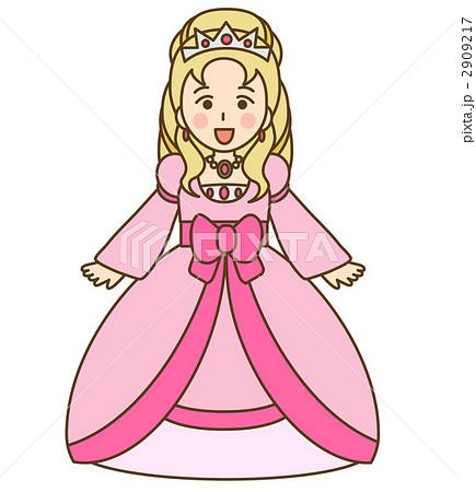 お姫様のイラスト素材 2909217 Pixta