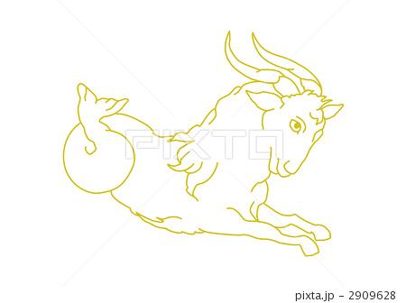 山羊座のイラスト素材 2909628 Pixta