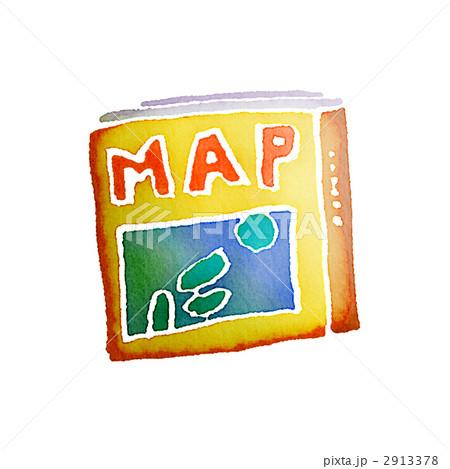 MAP 地図 マップのイラスト素材 ...