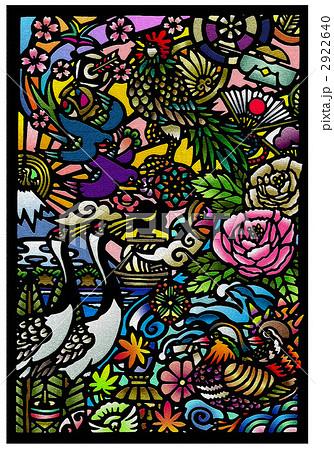 花鳥風月のイラスト素材 2922640 Pixta