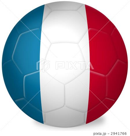 サッカーボール_国旗_フランス ...