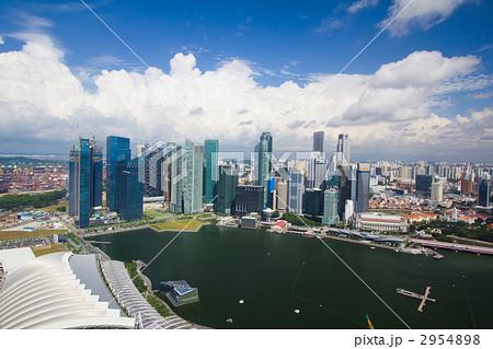 シンガポール マリーナ・ベイ・サンズホテルから 2954898