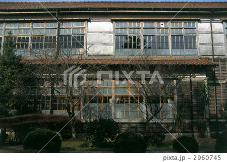 萩明倫小学校の木造校舎 2960745