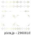 フレーム コーナー 罫線のイラスト 2960810