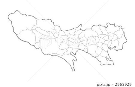 フリー 地図 東京 都
